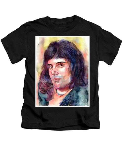 Freddie Mercury Young Kids T-Shirt