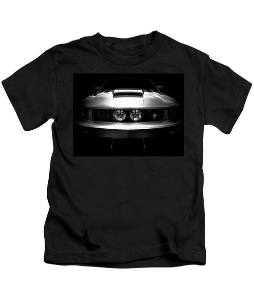 From The Shadows - Ford Mustang Gt California Special - American Muscle Car Kids T-Shirt