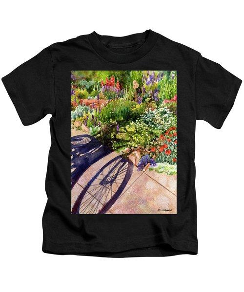Garden Shadows II Kids T-Shirt