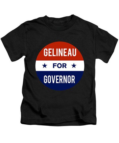 Gelineau For Governor 2018 Kids T-Shirt