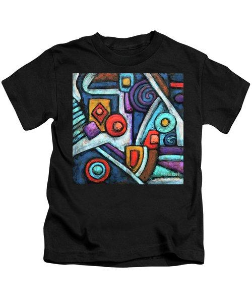 Geometric Abstract 4 Kids T-Shirt