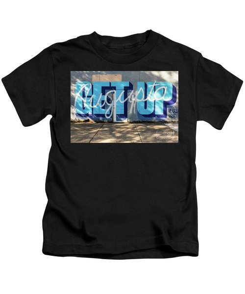 Get Up Augusta Ga Mural  Kids T-Shirt