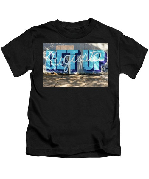 Get Up Augusta Ga Mural  Kids T-Shirt
