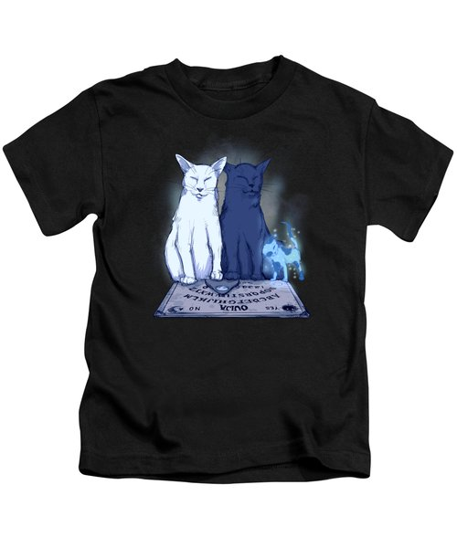 Ghost Kitten Kids T-Shirt