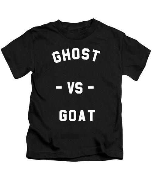 Ghost Vs Goat Kids T-Shirt