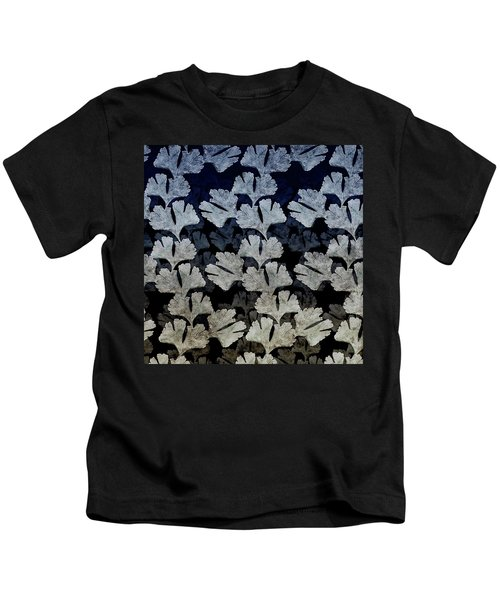 Ginko Leaf Pattern Kids T-Shirt