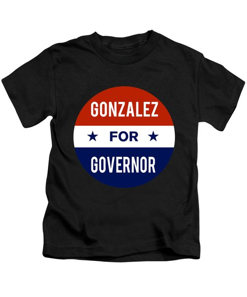 Gonzalez For Governor 2018 Kids T-Shirt