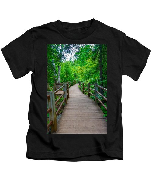 Gooseberry River Trail Kids T-Shirt