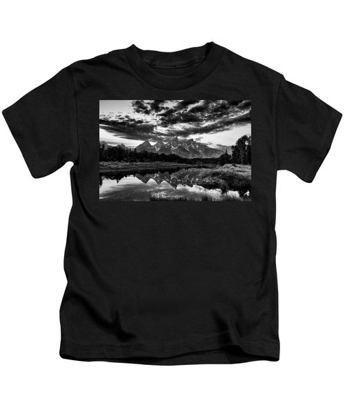 Grand Tetons, Wyoming Kids T-Shirt
