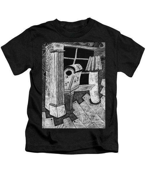 Grandfather Clock Kids T-Shirt