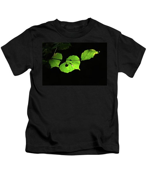 Green Leaves Kids T-Shirt