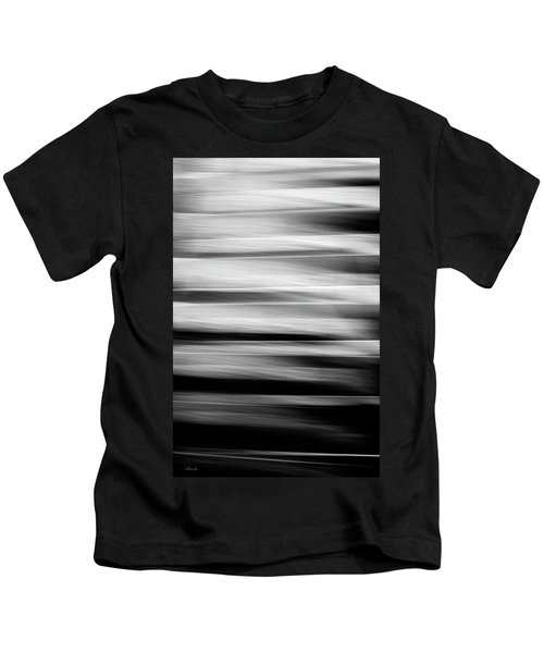 Abstract Waves Kids T-Shirt