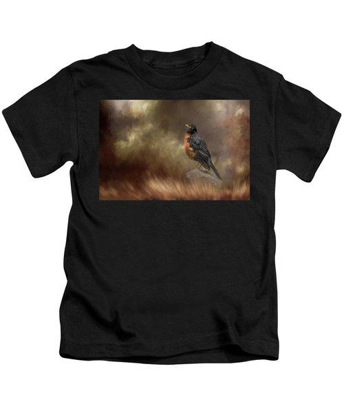 Greeting Autumn Kids T-Shirt
