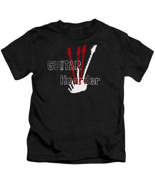 Guitar Hoarder Kids T-Shirt