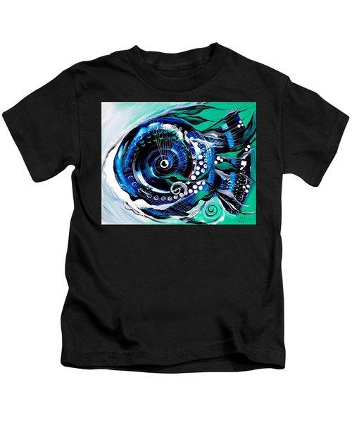 Half-smile, Break The Ice Fish Kids T-Shirt