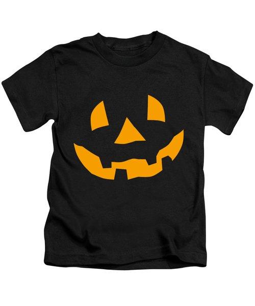 Halloween Pumpkin Tee Shirt Kids T-Shirt
