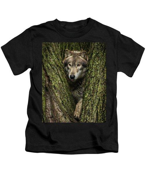 Hangin In The Tree Kids T-Shirt