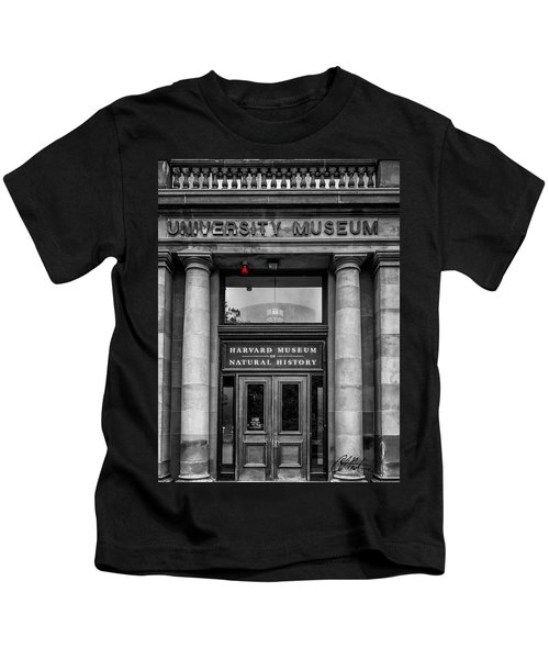 Kids T-Shirt featuring the photograph Harvard Museum Of Natural History by Chris Montcalmo