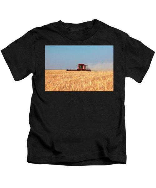 Harvest Blue Kids T-Shirt