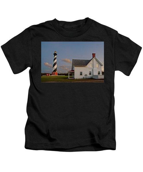 Hatteras Lighthouse No. 3 Kids T-Shirt