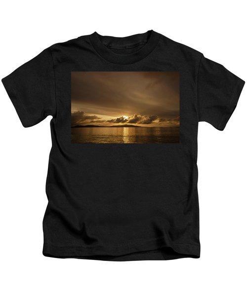 Hebridean Sunrise Kids T-Shirt
