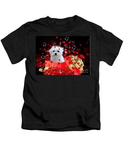 Hermes The Valentine Boy Kids T-Shirt
