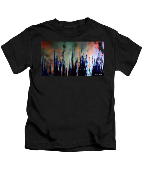 Hiding In The Tall Grass Kids T-Shirt