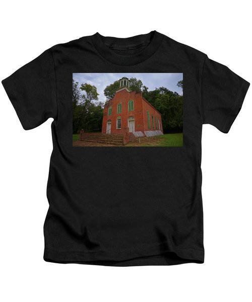 Historic Church Image Kids T-Shirt