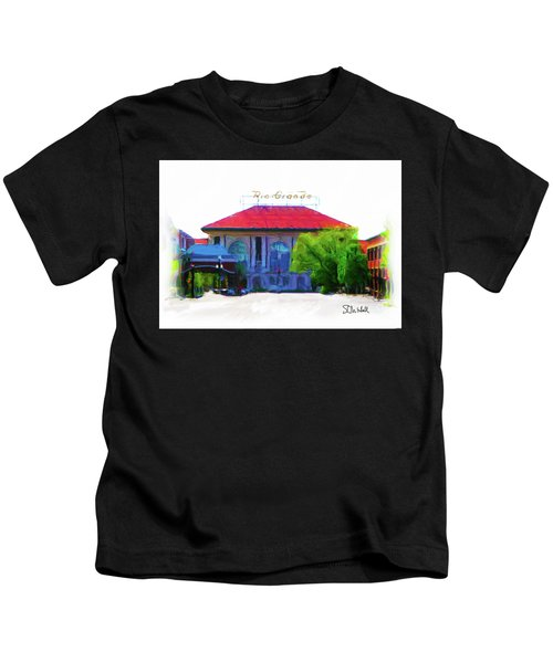 Historic Rio Grande Station Kids T-Shirt