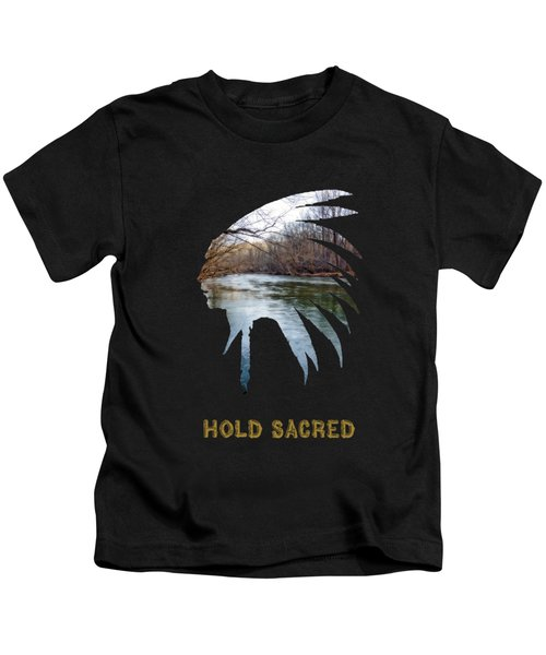 Hold Sacred Text Kids T-Shirt