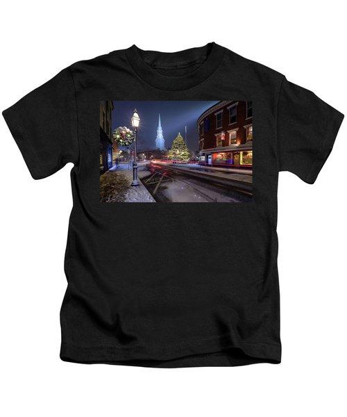 Holiday Magic, Market Square Kids T-Shirt