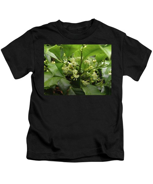 Holly Blossoms Kids T-Shirt
