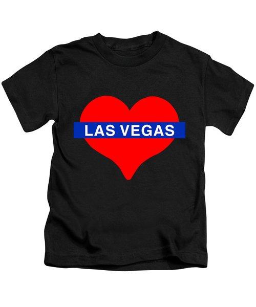 I Love Las Vegas Kids T-Shirt