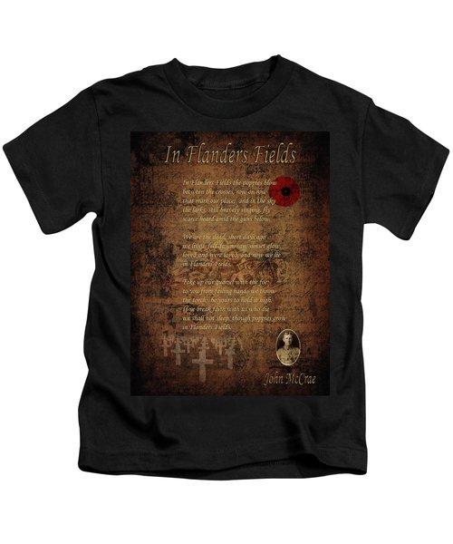 In Flanders Fields 2 Kids T-Shirt