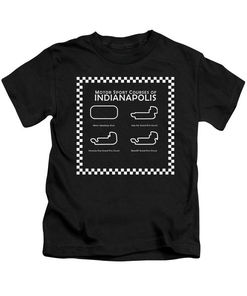 Indianapolis Courses Kids T-Shirt