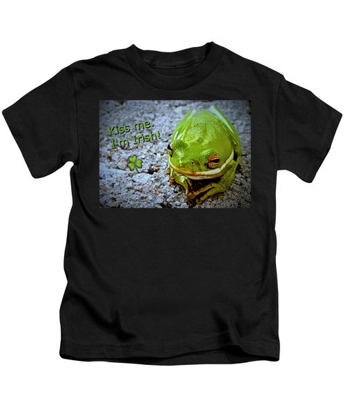 Irish Frog Kids T-Shirt