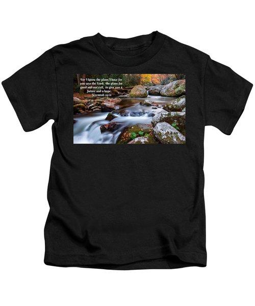 Jeremiah 29 And 11 Kids T-Shirt