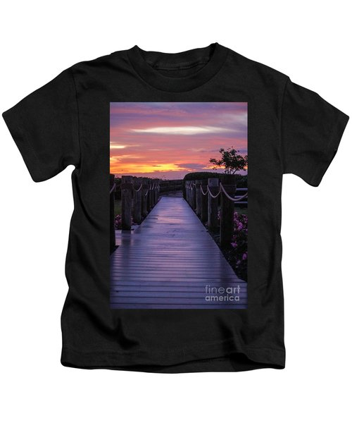 Just Another Day In Paradise Kids T-Shirt