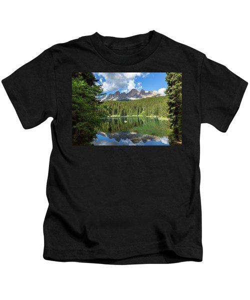 Karersee And Rosengarten Group Kids T-Shirt