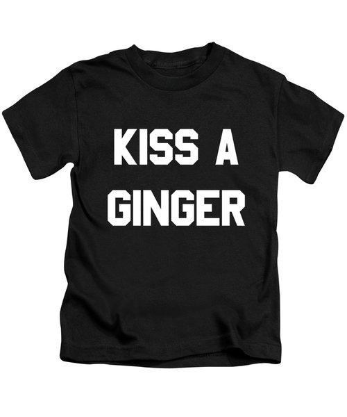 Kiss A Ginger Kids T-Shirt