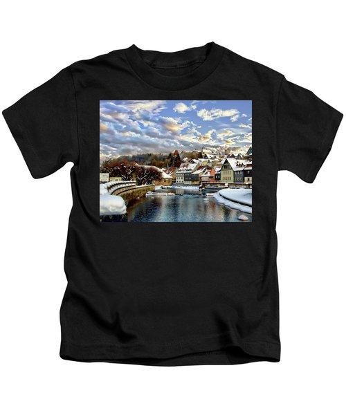 Kronach Winter Scene Kids T-Shirt