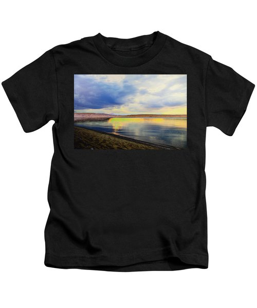 Lake Superior Sunset Kids T-Shirt