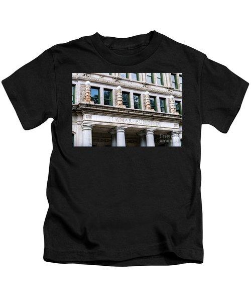 Lamar Building - Augusta Ga Kids T-Shirt
