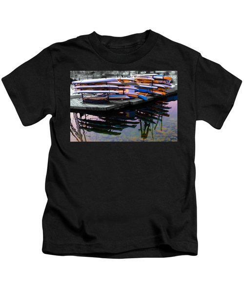 Layers And Layers By The Water Kids T-Shirt