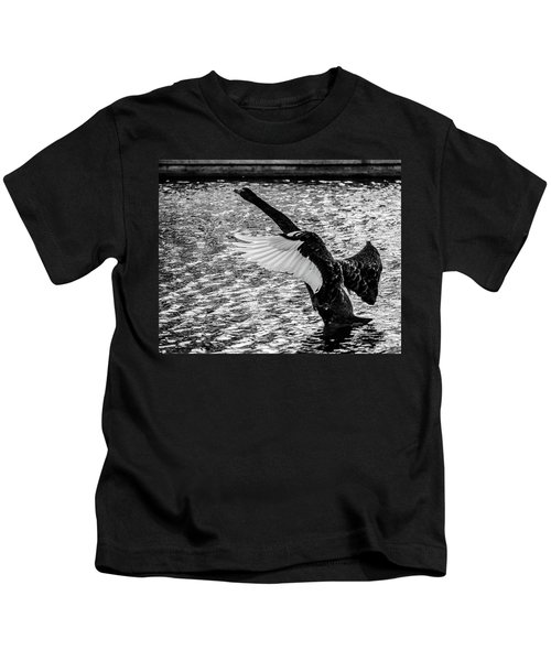 Learning To Fly Kids T-Shirt