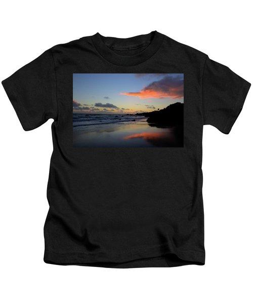 Leo Carrillo Sunset II Kids T-Shirt