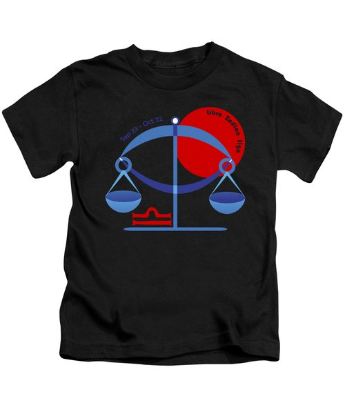 Libra - Scales Kids T-Shirt