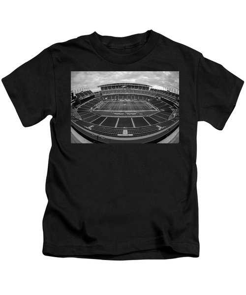 Lincoln Financial Field Black And White Kids T-Shirt