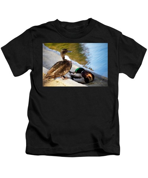 Looking Ahead Kids T-Shirt