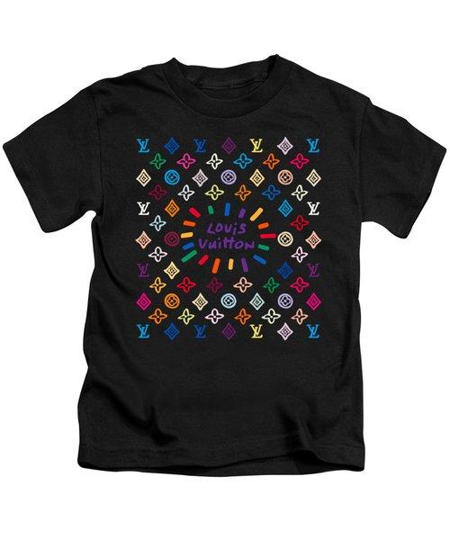 Louis Vuitton Monogram-11 Kids T-Shirt